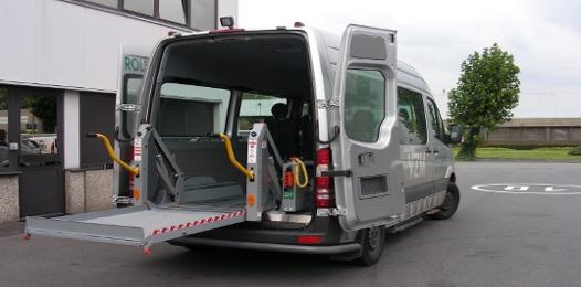 Автоматические двери микроавтобусов