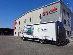 DH-AR21 5T для перевозки чистящих машин