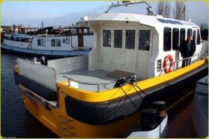 Пассажирский подъемник на лодке
